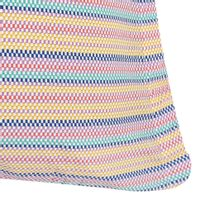 Color stripe capa para travesseiro