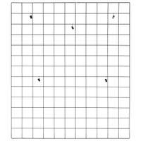 Memory-board-80-Cm-X-70-Cm-Preto-Grid