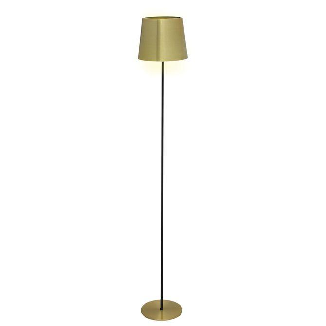 Luminaria-Piso-Dourado-preto-Posh