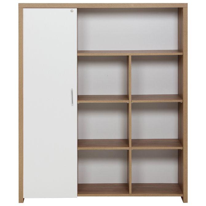 Armario-Alto-1-Porta-Oak-Tammi-branco-Boss