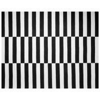 Tapete-200-Cm-X-250-Cm-Preto-branco-Zebre