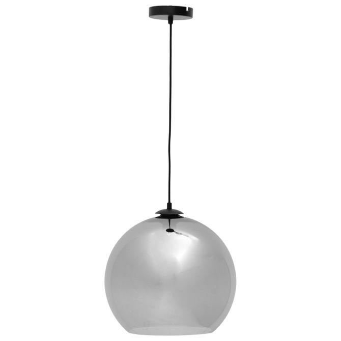 Luminaria-Teto-Prata-Globe-Glass