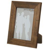 Porta-retrato-15-Cm-X-21-Cm-Castanho-Rustico