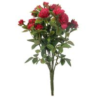 Delicada-Mini-Rosa-Vermelho-verde-Bouquet