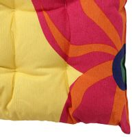 Futon-Almofada-40-Cm-Amarelo-multicor-Tropicolagem