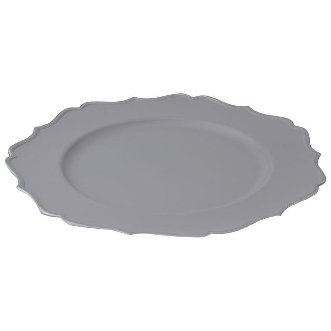 Sousplat-Cinza-prata-Puget