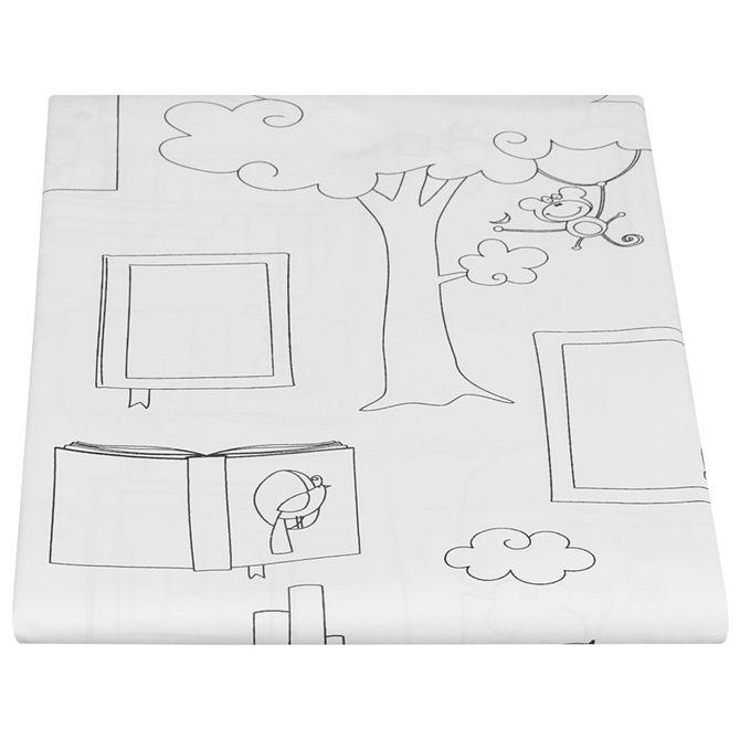 Updb-Lencol-Junior-solteiro-160x240-Branco-preto-Um-Pe-De-Biblioteca