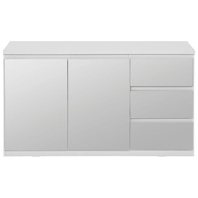 Buffet-2p-3gv-133x45-Branco-prata-Mince