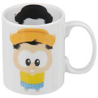 Chico-Bento-Toy-Caneca-300-Ml-Branco-multicor-Monica-Toy
