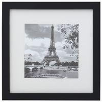 Eiffel-Quadro-28-Cm-X-28-Cm-Preto-branco-Paris