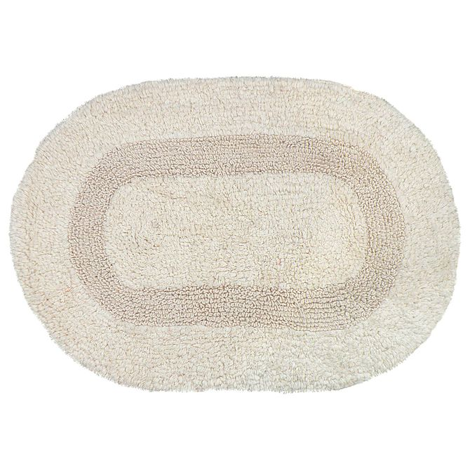 Tapete-Duplaface-50x70-Bege-natural-Oval-Revers