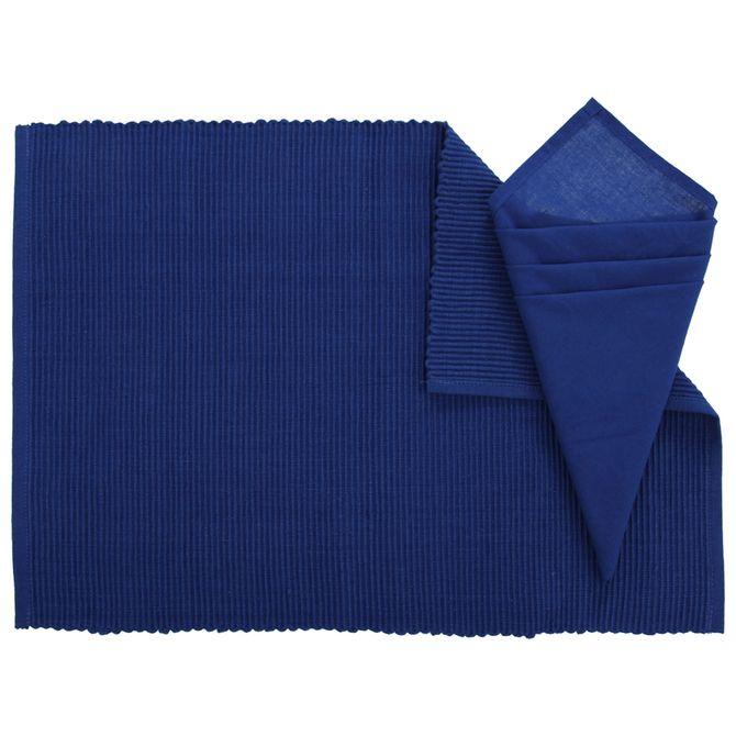 Lugar-Amer-Tc-33-Cm-X-48-Cm-Azul-Escuro-Rib