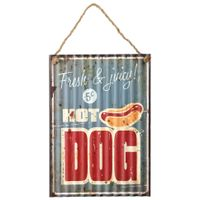Placa-Decorativa-40-Cm-X-28-Cm-Multicor-Hot-Dog