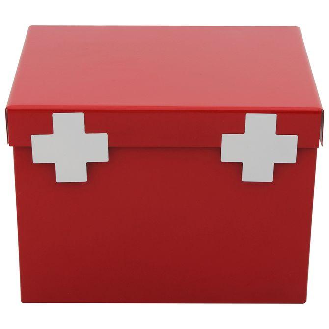 Caixa-Para-Remedios-Vermelho-branco-Farmacinha