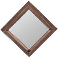 Espelho-Decorativo-21-Cm-X-21-Cm-Ouro-Sepia-Lozenge
