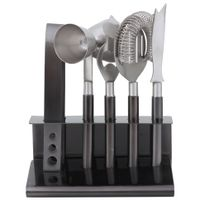 Kit-Para-Bar-5-Pcs-Grafite-inox-Luxury