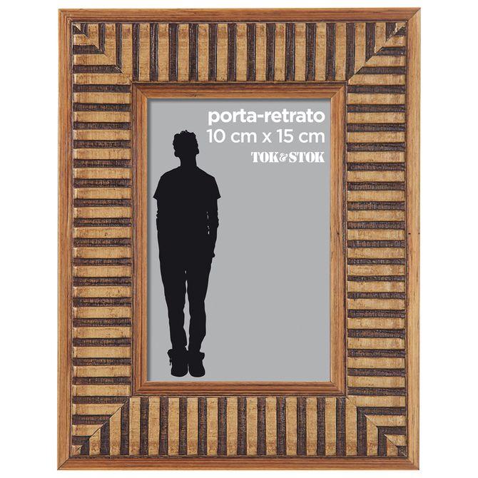 Porta-retrato-10-Cm-X-15-Cm-Castanho-Jarape
