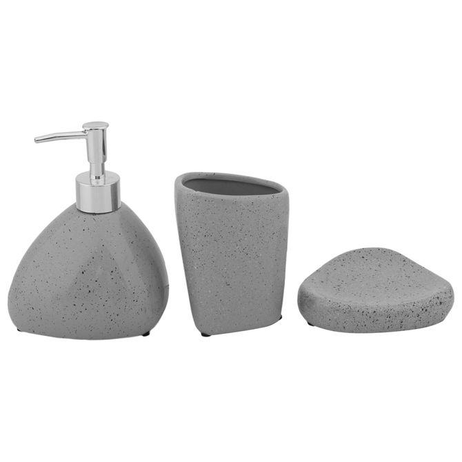 Kit-Para-Bancada-C--3-Pcs-Cinza-multicor-Like-A-Stone
