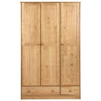 Guarda-roupa-3-Portas-2-Gavetas-Amendoa-Timber