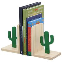 Cacto-Aparador-De-Livros-C-2-Natural-verde-Hang-It
