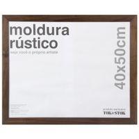 Kit-Moldura-40-Cm-X-50-Cm-Castanho-Rustico