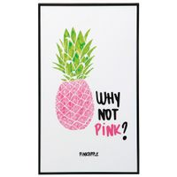 Pink--Quadro-23-Cm-X-38-Cm-Preto-multicor-Why-Not