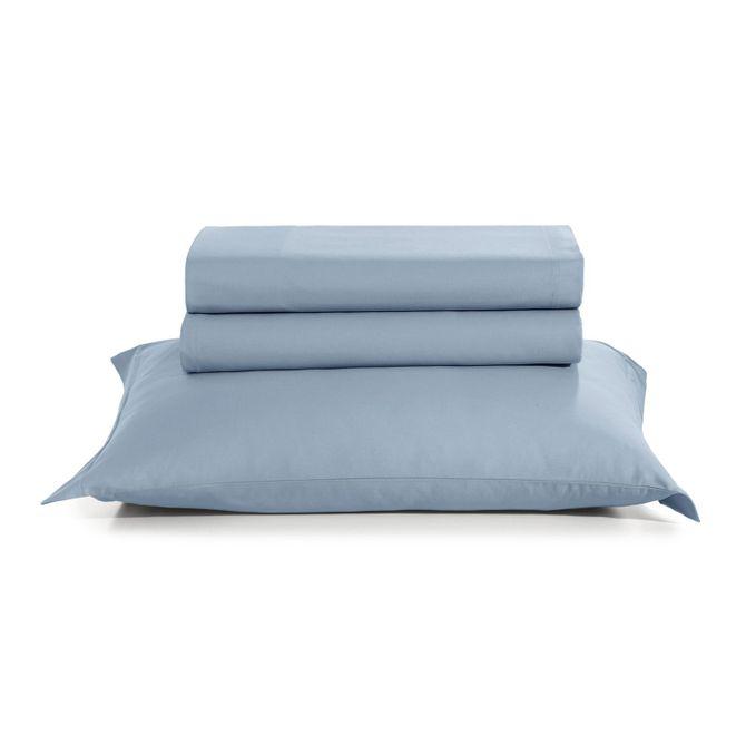Jogo-De-Cama-Tintos-Casal-220-Cm-X-247-Cm-Artex-Azul-Claro-Total-Mix
