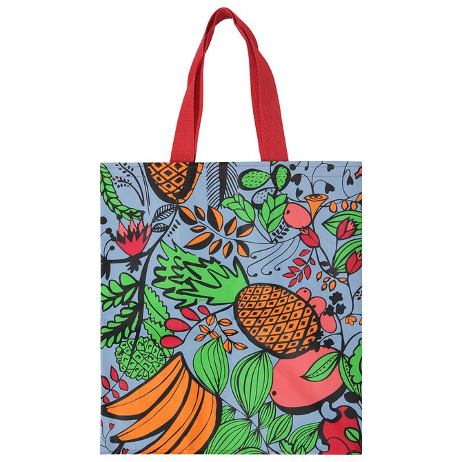 Rafia--Sacola-Cereja-multicor-Fruto-Tropical