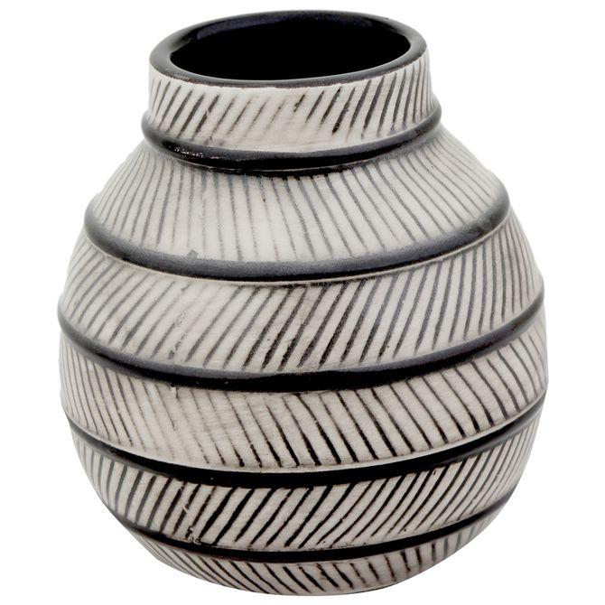 Vaso-Decorativo-12-Cm-Preto-branco-Nadhari