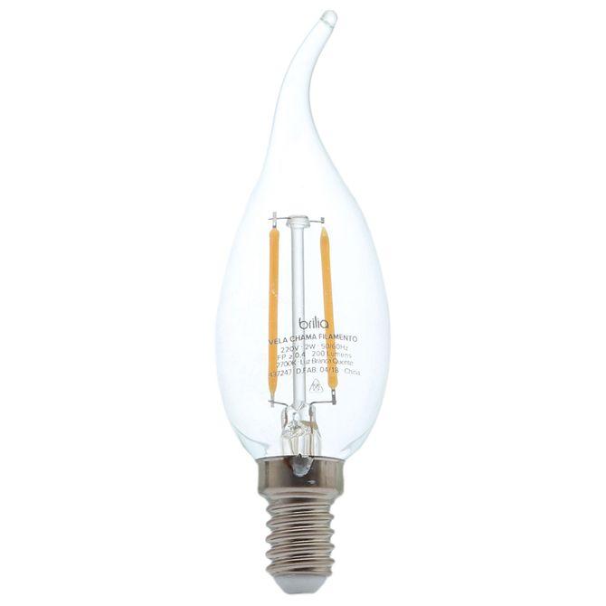 Lampada-Led-Chama-Filamento-2w-220v-E14-Luz-Am-Incolor-Brilia