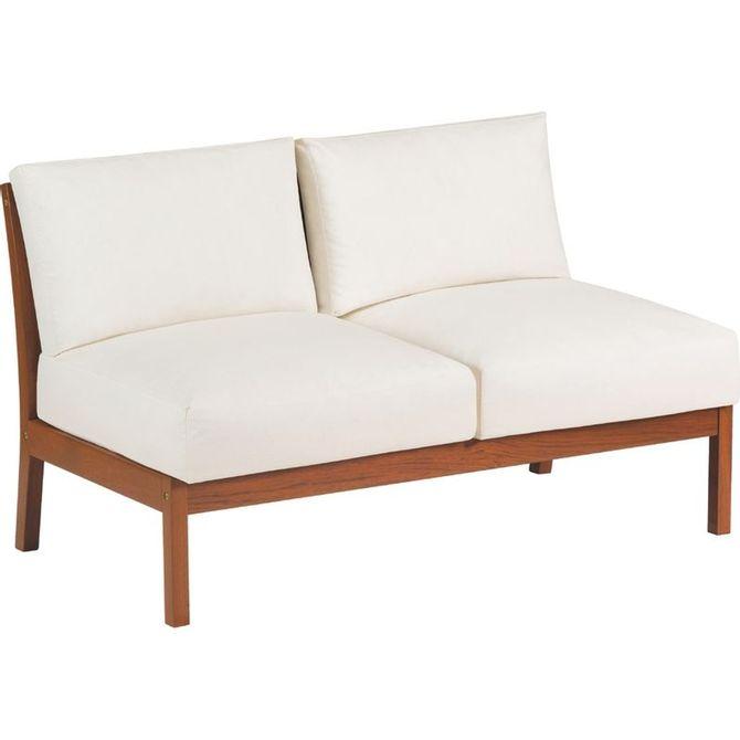 Sofa-Tramontina-Em-Jatoba-Com-Acabamento-Eco-Blindage-E-Estofado-Branco-Impermeavel-Sem-Bracos-2-Lugares-Freijo-branco-Terrazzo-Fitt