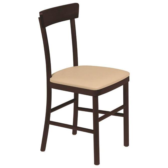 Cadeira-De-Madeira-Tramontina-Em-Tauari-Tabaco-Com-Estofado-Bege-Sem-Bracos-Bege-marrom-Piazza