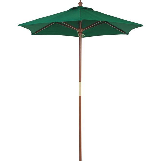 Ombrelone-Tramontina-Em-Madeira-E-Poliester-Verde-Sem-Base-18-M-Nogueira-verde-Escuro-Ombrelones