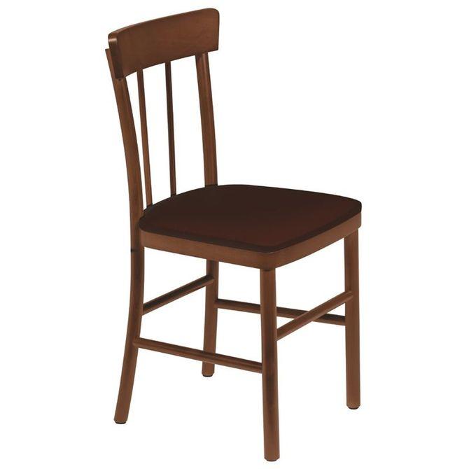 Cadeira-De-Madeira-Tramontina-Danubio-Em-Tauari-Amendoa-Sem-Bracos-Com-Estofado-Cafe-Cafe-Piazza