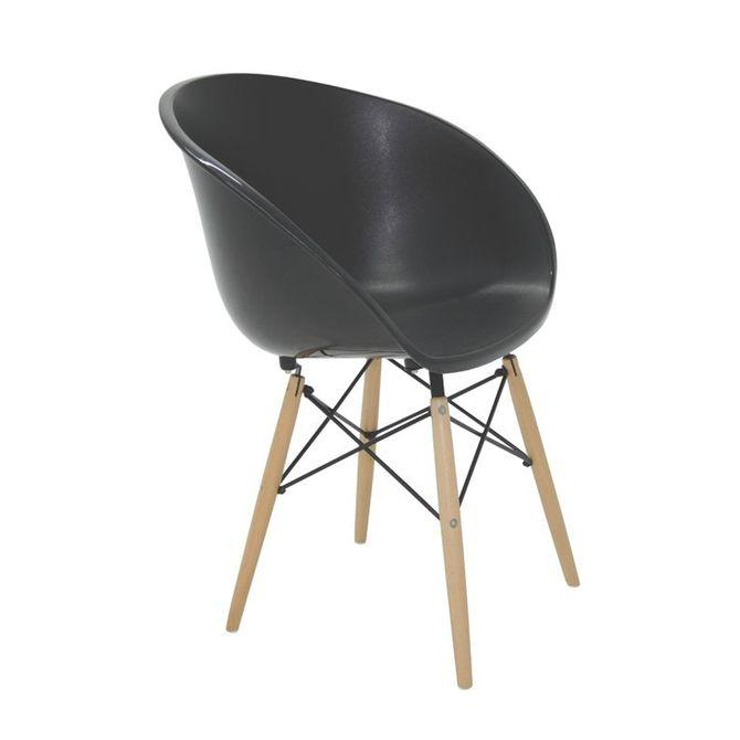Cadeira-Tramontina-Elena-Preta-Em-Polipropileno-Com-Base-3d-Em-Aco-Cromado-E-Madeira-Preto-natural-Summa