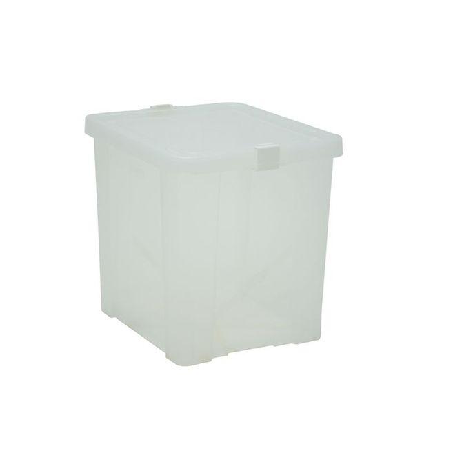 Caixa-Organizadora-Tramontina--Com-Tampa-Em-Plastico-Transparente-42-L-Branco-Translucido-Basic