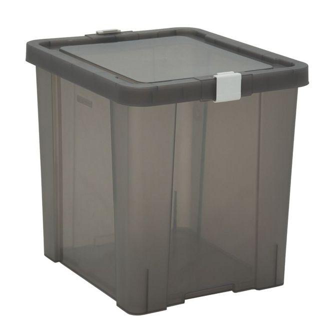 Caixa-Organizadora-Tramontina--Com-Tampa-Em-Plastico-Fume-42-L-Konkret-Basic