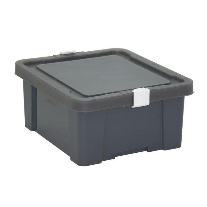 Caixa-Organizadora-Tramontina--Com-Tampa-Em-Plastico-Grafite-17-L-Konkret-Basic