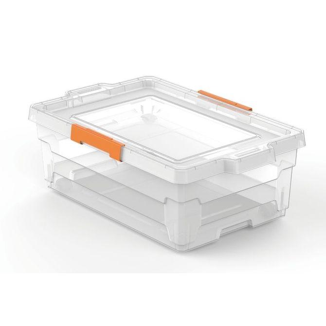Caixa-Organizadora-Tramontina--Com-Tampa-Em-Plastico-Transparente-40-L-Branco-Translucido-Basic