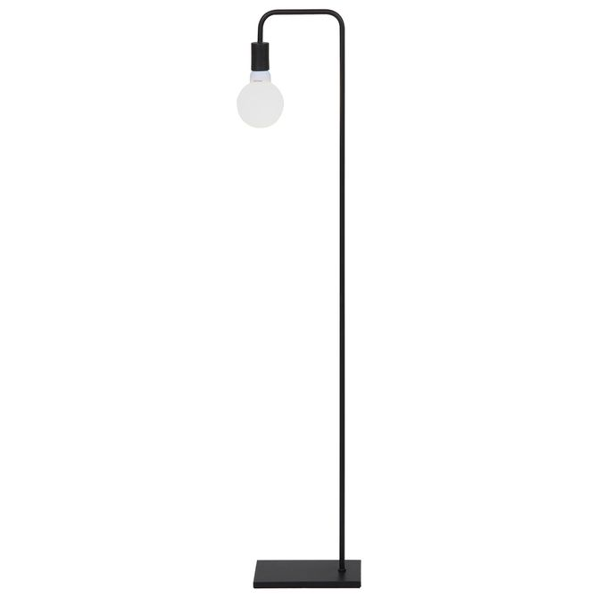Luminaria-Piso-Preto-Pipe