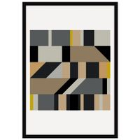 Level-Ii-Quadro-35-Cm-X-50-Cm-Multicor-preto-Galeria-Site