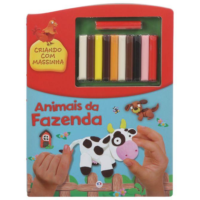 Livro-Animais-Criando-Com-Massinha-Multicor-Livro-Infantil