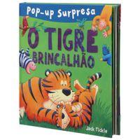 Livro-Pop-up-Surpresa-O-Tigre-Brincalhao-Multicor-Livro-Infantil