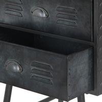 Criado-mudo-2gv-Grafite-Container