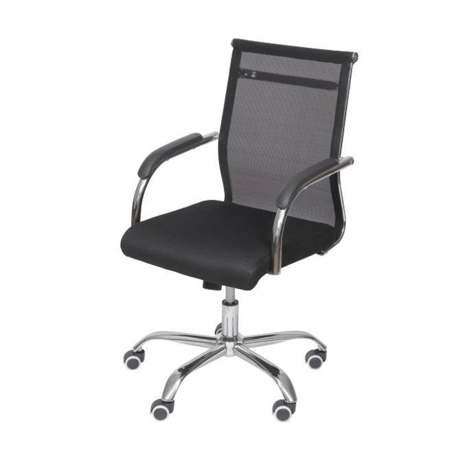 Cadeira--Baixa-Rodizio-Cromado-preto-Office-Tesi