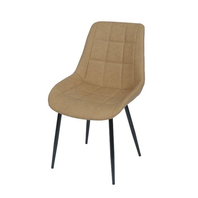 Cadeira-Chess-Sem-Braco-Preto-bege-Sofistic