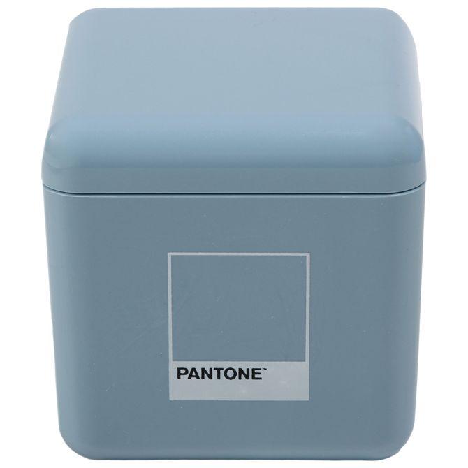 Porta-algodao-hastes-Flexiveis-Azul-Petroleo-Pantone