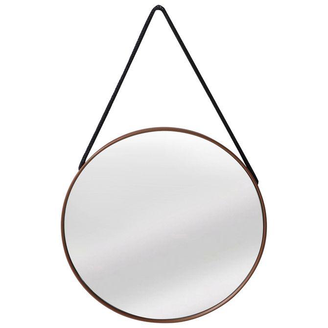 Espelho--Copper-40-Cm-Cobre-Black-Rope