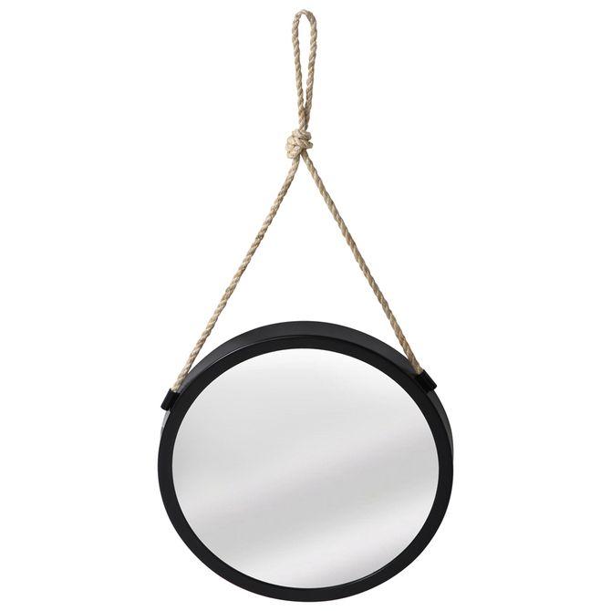 Espelho--Black-40-Cm-Preto-Sisal-Rope