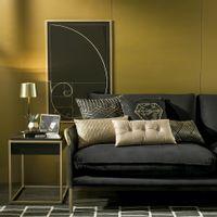 Luminaria-Mesa-Dourado-preto-Posh